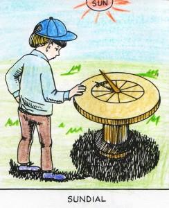 Using a Sundial