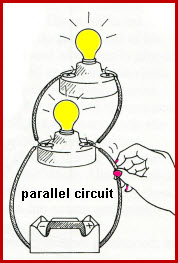 parallel circuit labeled for kids - photo #48