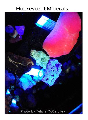 Fluorescing Minerals