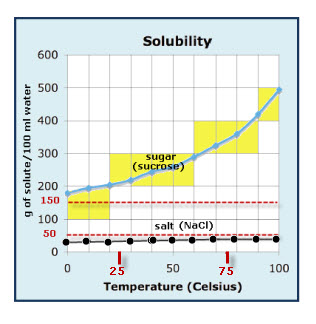 Solubility Graph | VanCleave\'s Science Fun