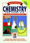 Janice VanCleave's Chemistry for Every Kid Book is a basic science experiment book, designed to help kids to learn, and adults to teach the fun of learning chemistry concepts.