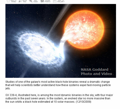 Black Hole Facts | VanCleave's Science Fun