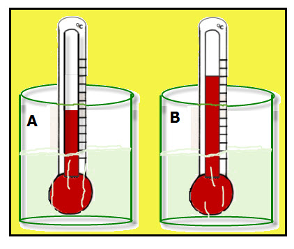 Thermometers in Water