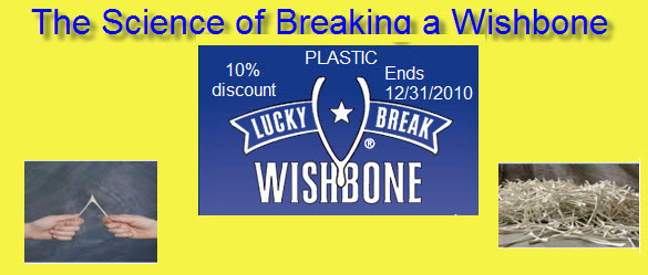 The Science of Breaking a Wishbone