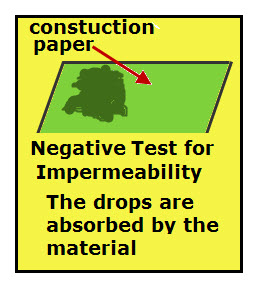 Negative Imperabeability Test