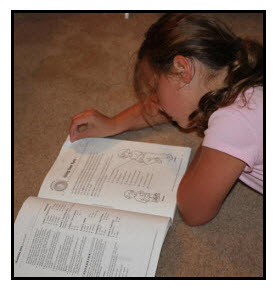 Girl is Reading a Book: A Type of Fact Finding Research