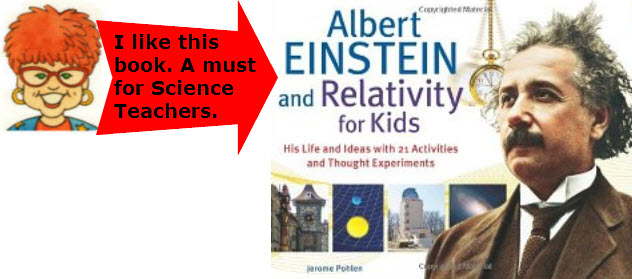 Albert Einstein's life and ideas with 21 activitiies and thought experiments.
