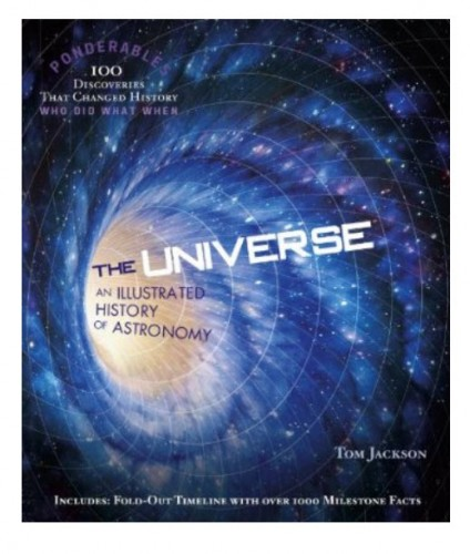 The Universe by Tom Jackson have snippets of information with beautiful colored pictures.