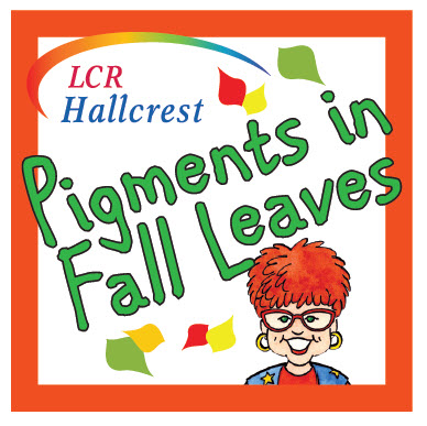 Janice VanCleave/LCR Hallcrest Pigment in Fall Leaves Logo.