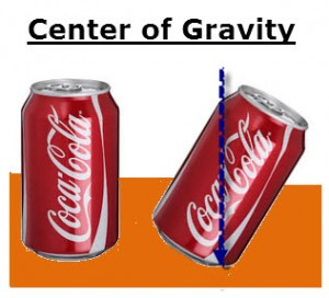 Center of Gravity of A Soda Can
